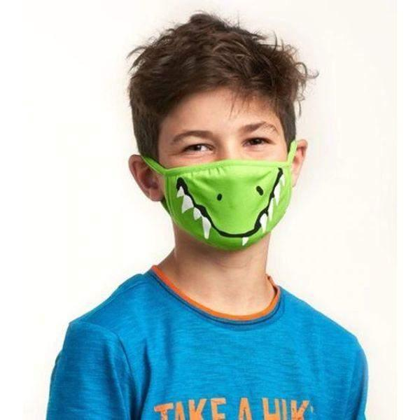 Hatley Kids Face Mask - Crocodile