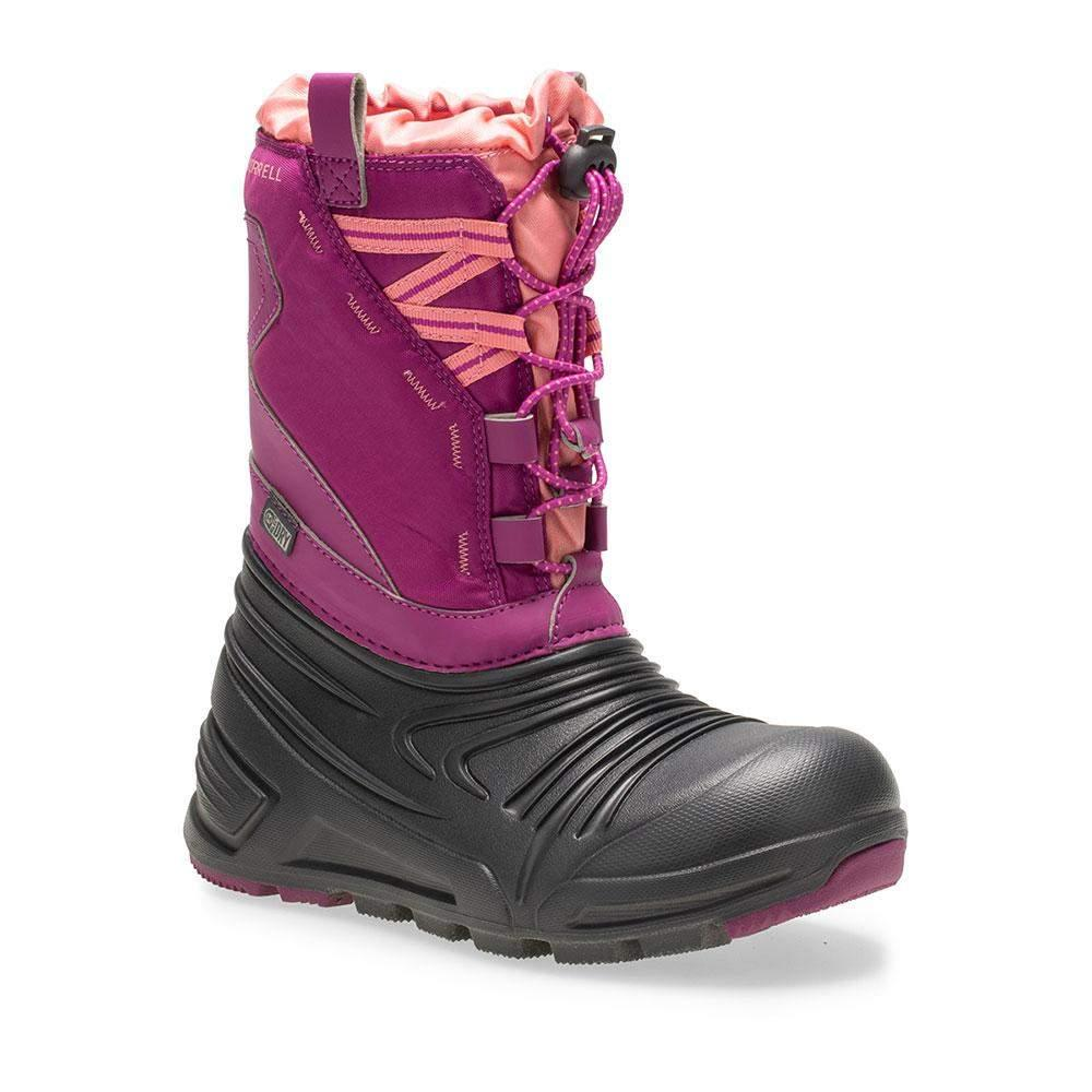 Merrell Snow Quest Lite 2.0 Waterproof Girls Winter Boots/Big Kid - ShoeKid.ca