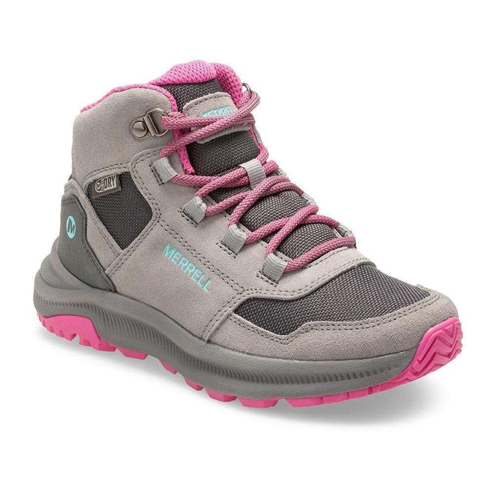 Merrell/MK162262/Ontario 85 Waterproof/Gray/Girls Hike/Big Kid