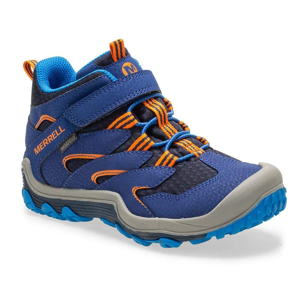 Merrell/MK261296/Chameleon 7 Access Mid Wtr/Navy/Boys Hike/Big Kid - ShoeKid.ca