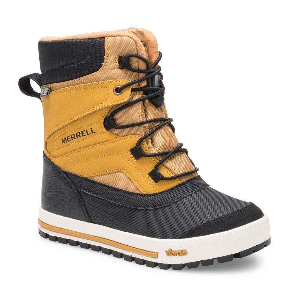 Merrell SNOWBANK Wheat Boys Winter Boots