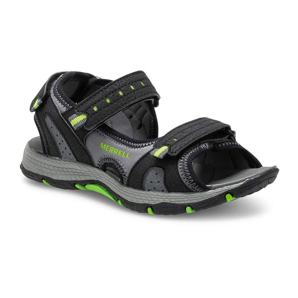 Merrell/MK262954/Panther Sandal 2.0/Black/Boys Sandals/Big Kid