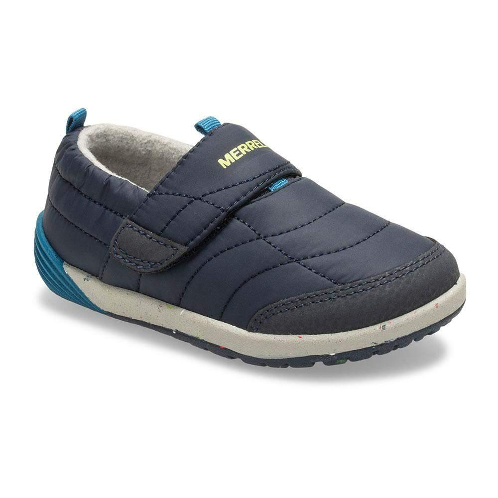 Merrell/ML262107/Bare Steps Hut Moc/Navy/Boys Casual Shoes/Toddler