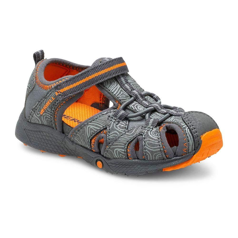 Merrell/ML262545/Hydro Jr/Gray/Boys Sandals/Toddler