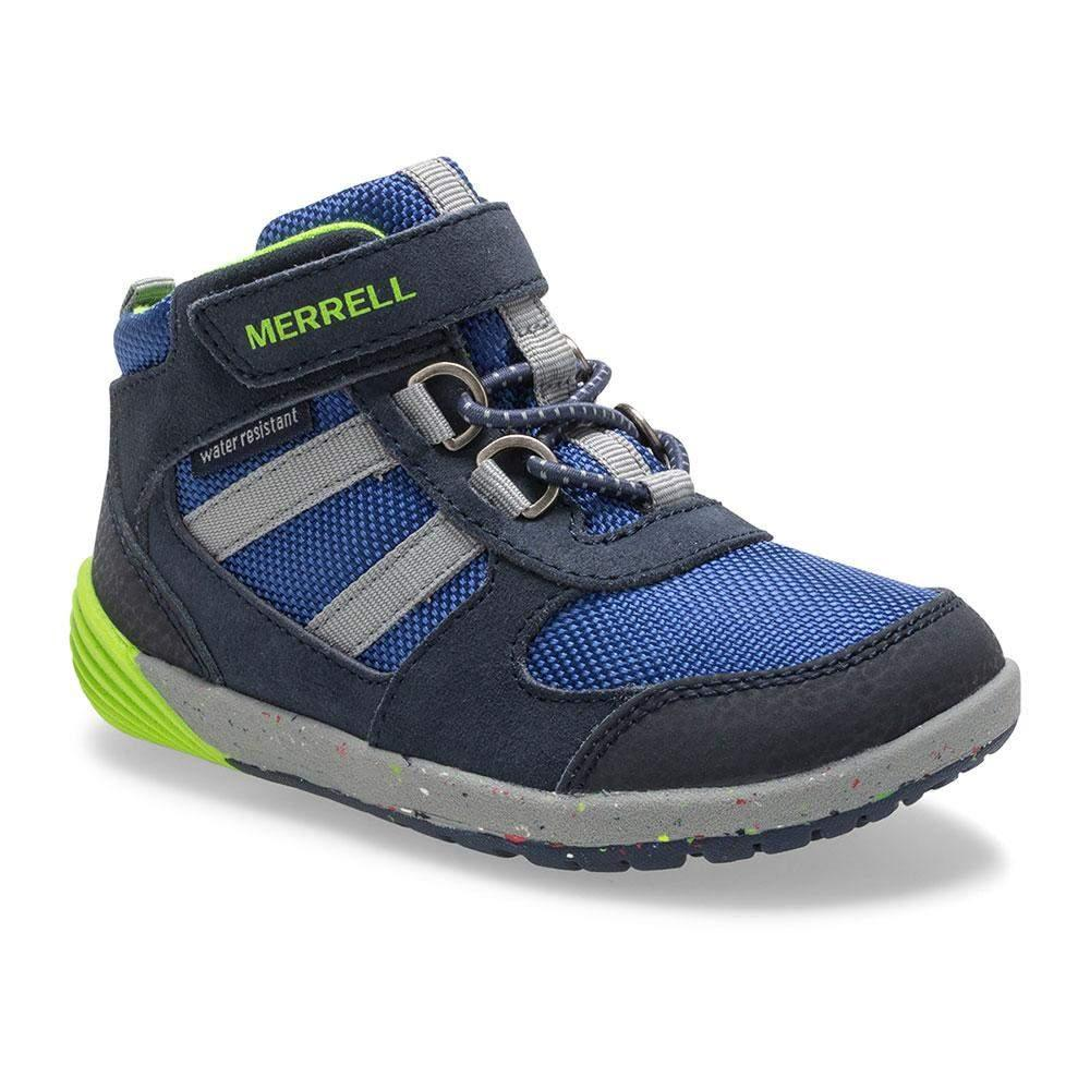 Merrell/ML262608/Bare Steps Ridge Jr/Navy/Boys Casual Hiker/Toddler