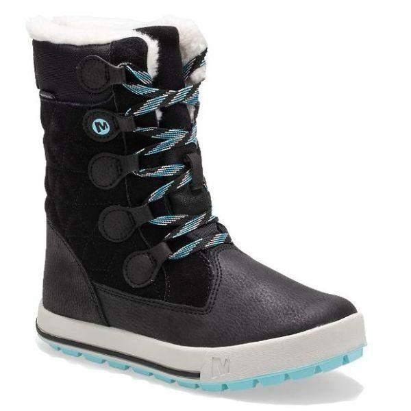 Merrell Heidi Waterproof Girls Winter Boots Big Kid -25C - ShoeKid.ca