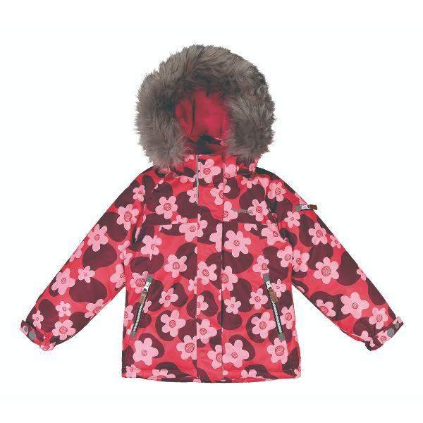 Kuoma Kids Girls Winter jacket NEA Pink (Made in Finland)