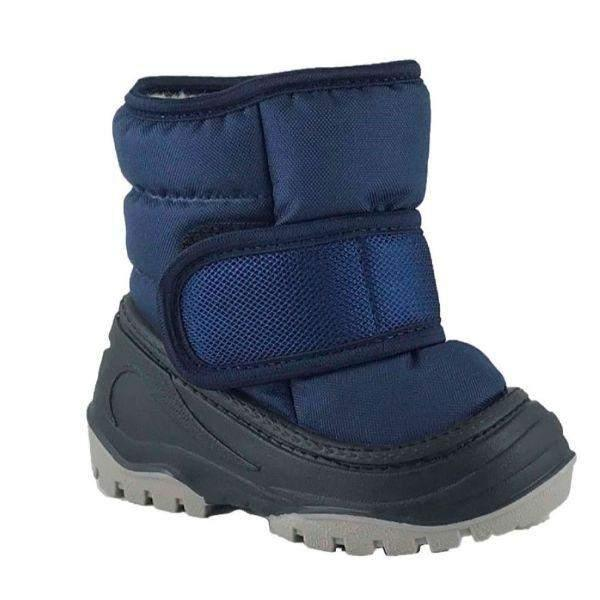 Alisa Olaf Baby Toddler D/Blue Winter Boots (Made in Europe) -25C