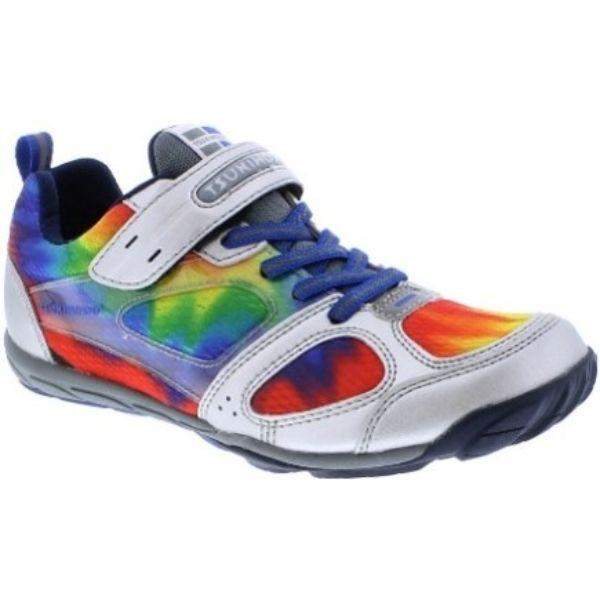 Tsukihoshi MAKO Kids Running Shoes (Silver Multi (Machine Washable) - ShoeKid.ca