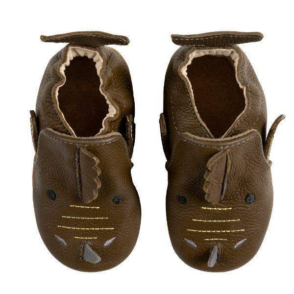 Robeez Baby Shoes Soft Sole Drake Olive
