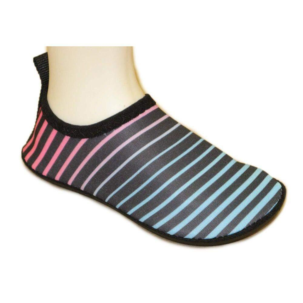 Kids Aqua Socks Stripes Water Shoes Quick Drying /for Swim