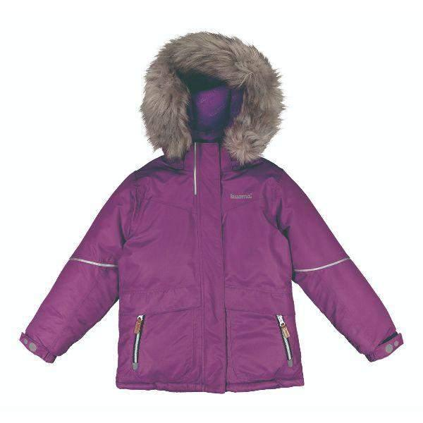 Kuoma Kids Girls Winter Jacket Saima Amethyst (Made in Finland)