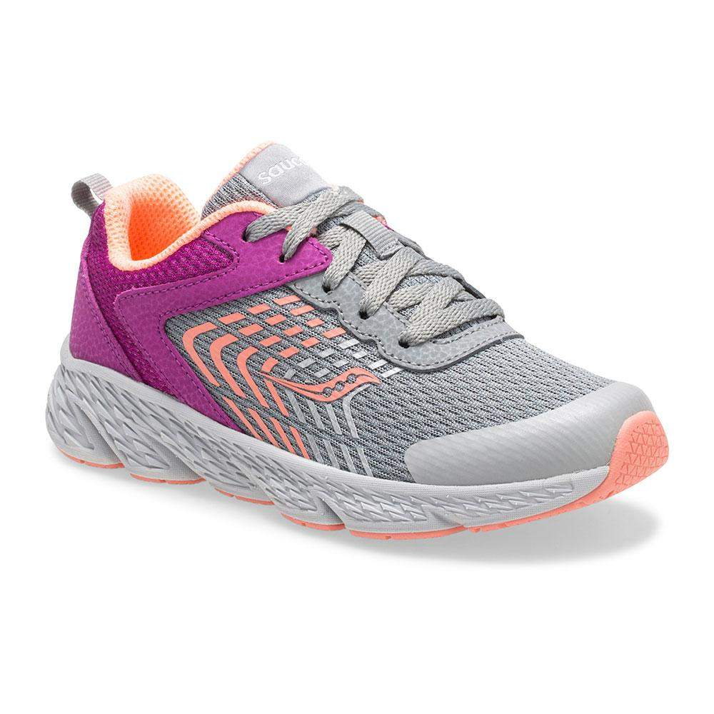 Saucony SK162414 Wind A/C/Girls Running Shoes/ Kid