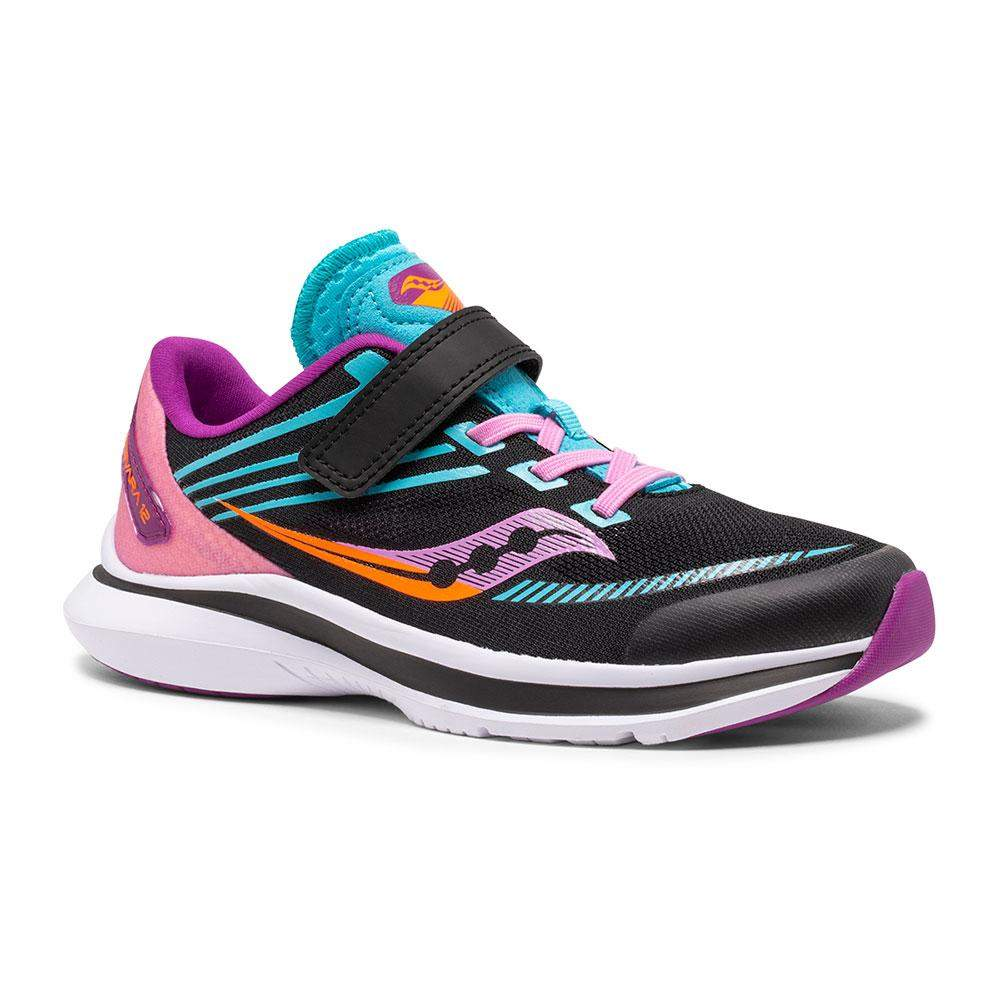 Saucony SK164341 Kinvara Black Pink Girls Running Shoes