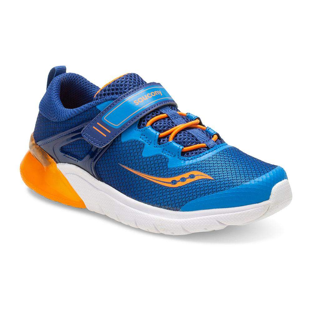Saucony SK261521 Flash Glow Boys Running Shoes - ShoeKid.ca
