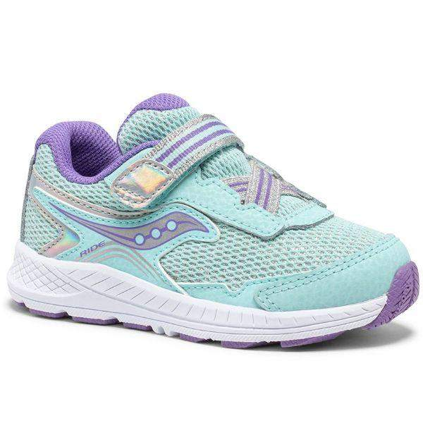 Saucony/SL164347/Ride 10 Jr/ Girls Toddler Running Shoes