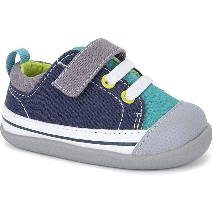 See Kai Run/Stevie II INF/Teal/Boys First Walking Shoes