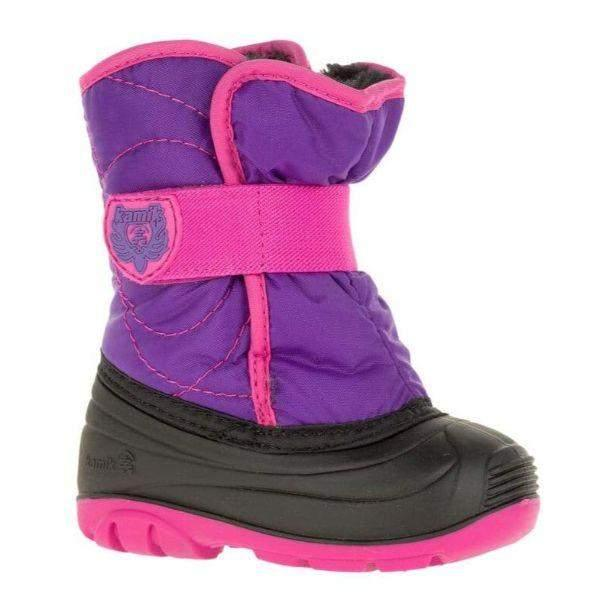 Kamik SnowBug3 Toddler Girls Waterproof Winter Boots -23C - ShoeKid.ca
