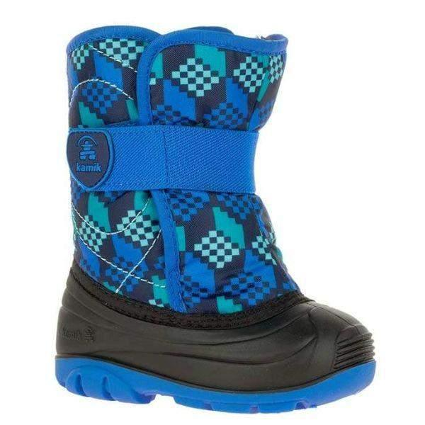 Kamik SnowBug4 Toddler Boys Waterproof Winter Boots -23C - ShoeKid.ca