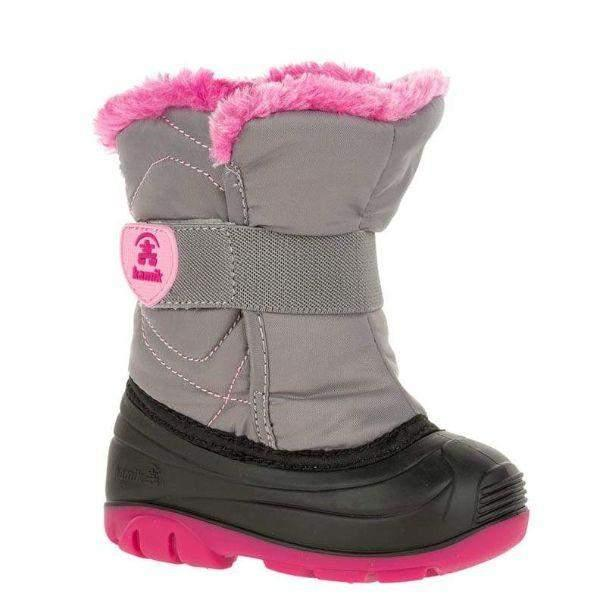 Kamik SnowBugF Toddler Girls Waterproof Winter Boots -23C - ShoeKid.ca
