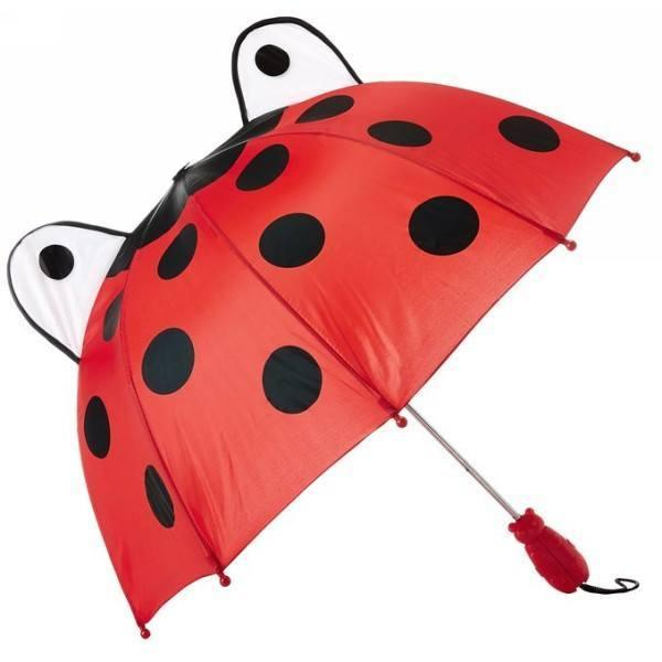 Kidorable Kids Umbrella Lady Bug - ShoeKid.ca
