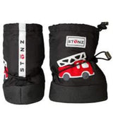 Accessories - Stonz Bootie Fire Truck Black PLUS FOAM / Infant / Toddler