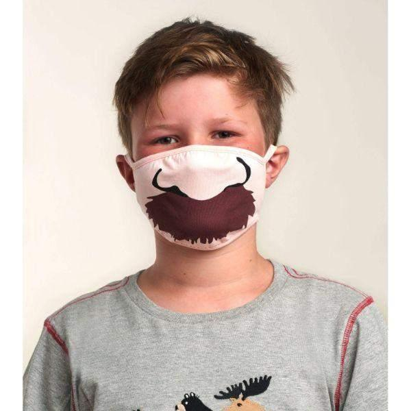 Hatley Kids Face Mask - Moustache