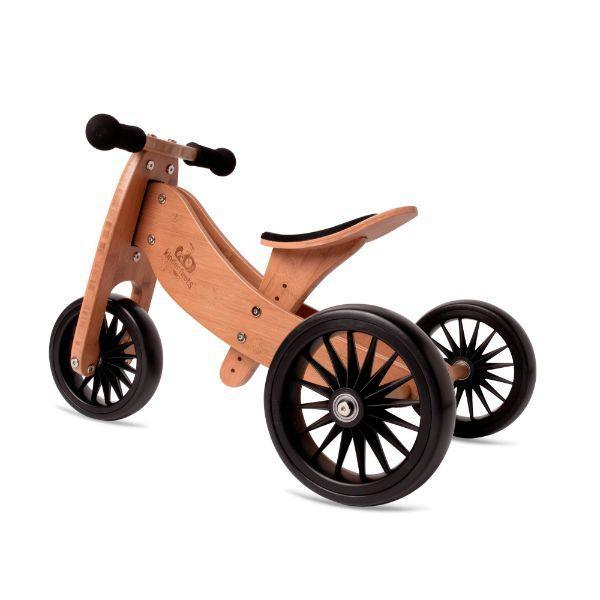 Kinderfeets Bamboo Tiny Tot PLUS  Trike Balance Bike 18M+