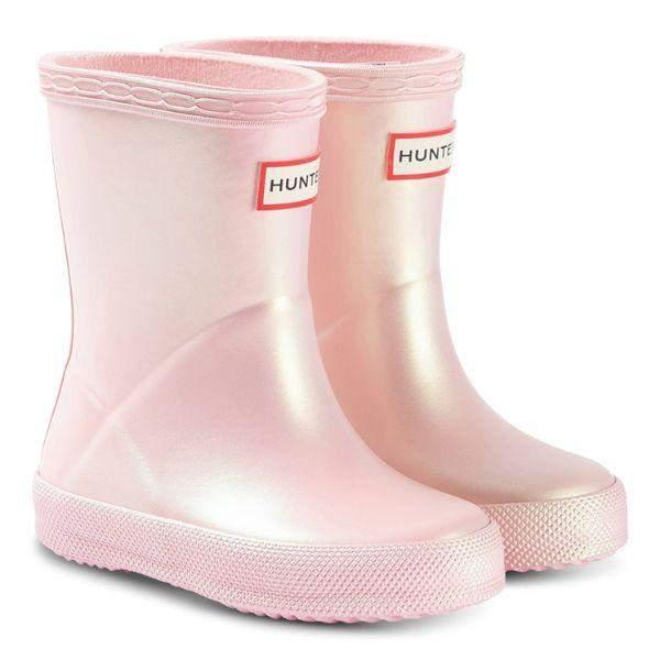 Hunter Kids Rain Boots First Classic Nebula Bella - ShoeKid Canada