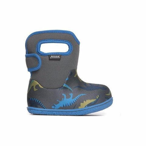 Boys Baby Bogs - Baby Bogs Dino Infant /Toddler / Waterproof / -10C Warm