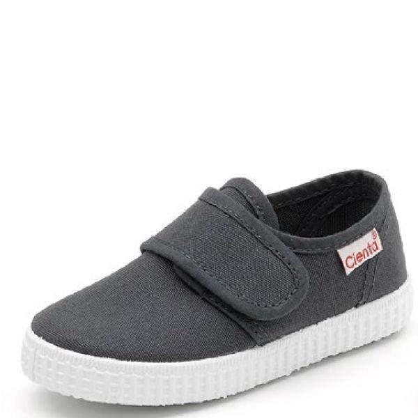 Boys Casual Shoes - Cienta Blucher Velcro Liso / Made In Spain