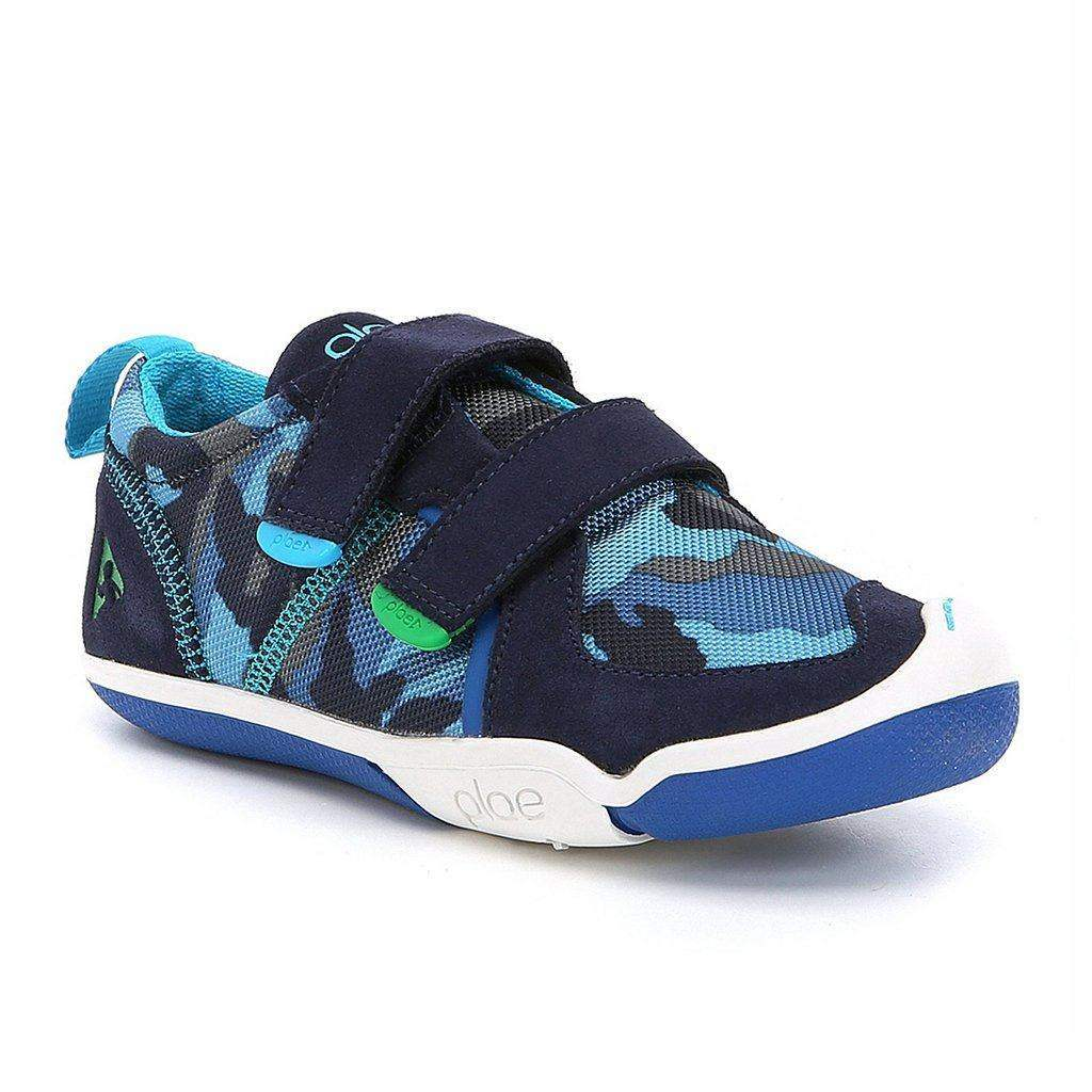 Boys Casual Shoes - Plae TY Blue Camo Boys Casual Shoes