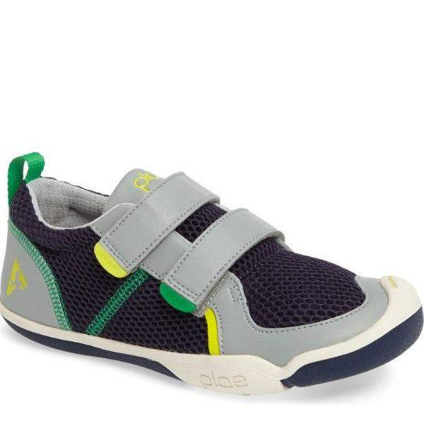 Boys Casual Shoes - Plae Ty Navy Limestone Boys Casual Shoes