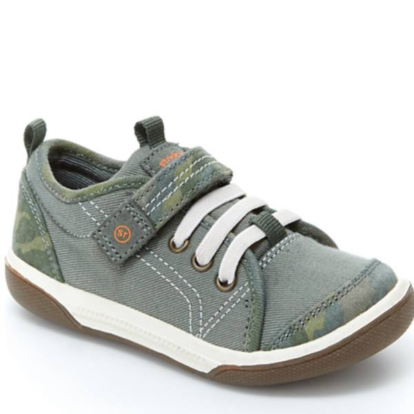Boys Casual Shoes - Stride Rite DAKOTA / Green Camo /Toddler / Little Kids