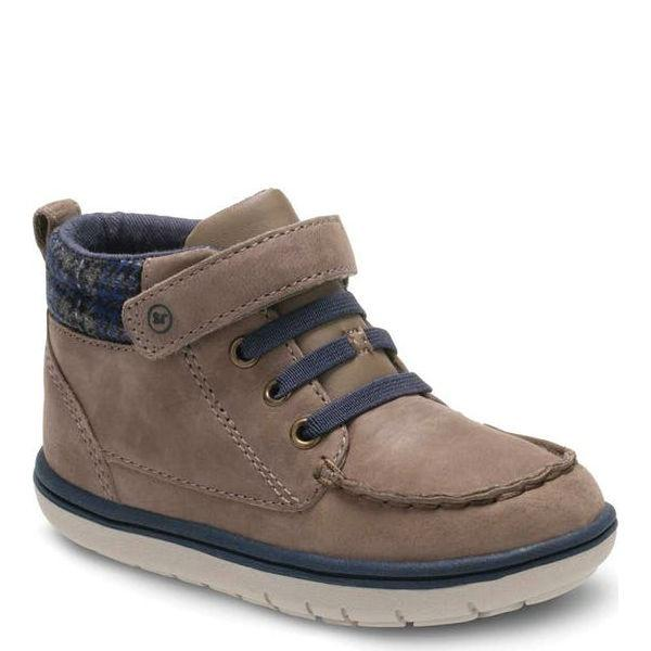 Boys Casual Shoes - Stride Rite  Langston Grey Boots / Toddler / Little Kids