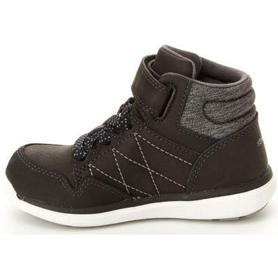 Boys Casual Shoes - Stride Rite Saul Black / Toddler / Little Kids / Machine Washable