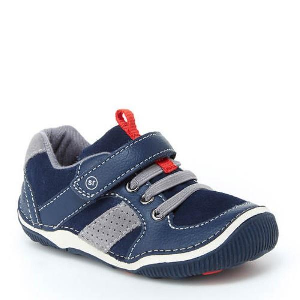 Boys Casual Shoes - Stride Rite SRT Wes Navy /Toddler / Little Kids