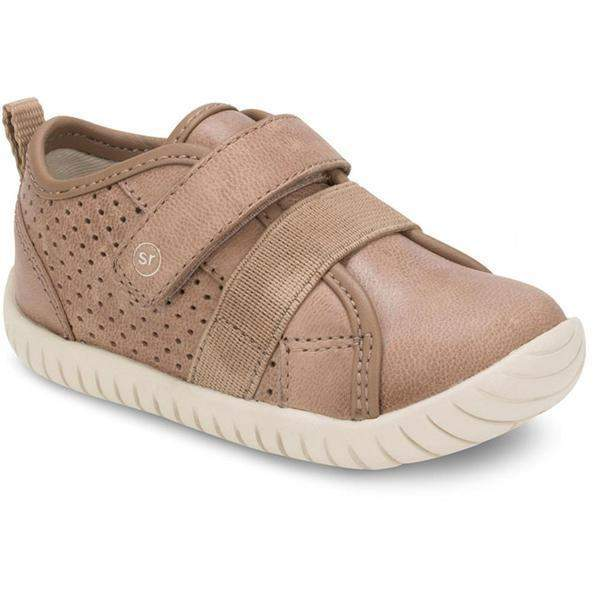Boys Casual Shoes - Stride Rite Toddler Boys SRT SM Riley Tan Leather