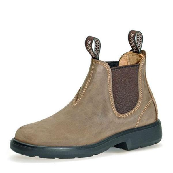 Yabbies Australian Kids Chelsea Leather Vintage Boot