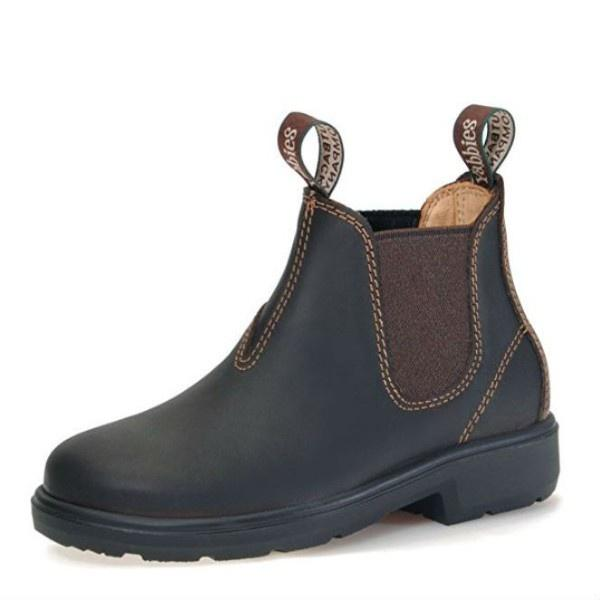 Yabbies Kids Chelsea Leather Boot / Brown / Made in Germany - ShoeKid Canada