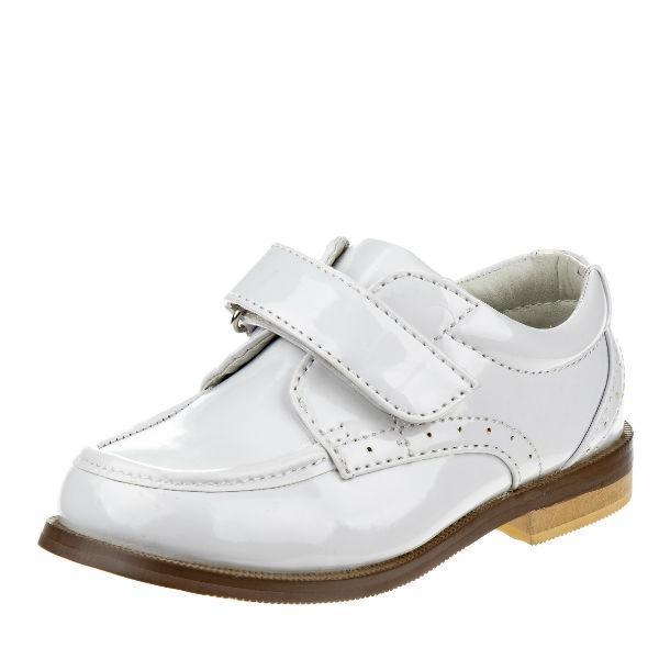 Josmo Boys White Dress Shoes (Baby/Toddler/Little Kids) - ShoeKid.ca