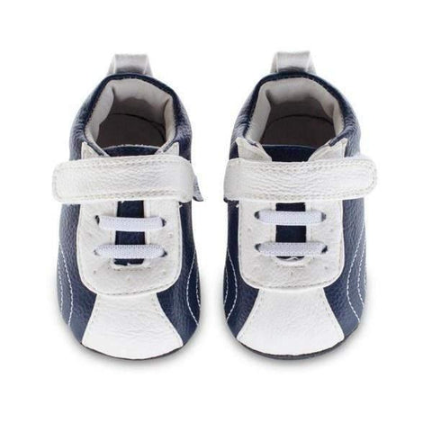 Boys First Walking Shoes - Jack & Lily COURTNEY Sport Navy