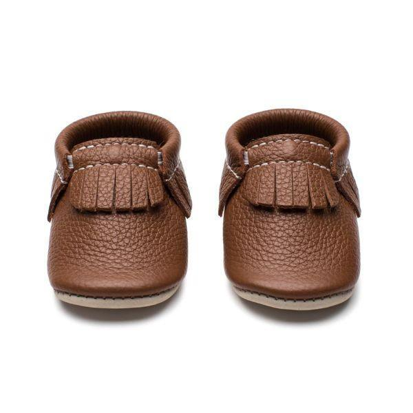Boys First Walking Shoes - Minimoc Elk Baby Shoes