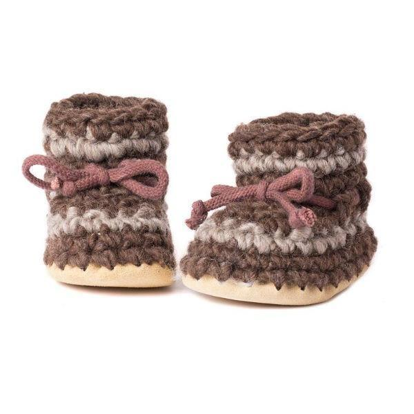 Padraig Baby Brown / Infant / Toddler Slippers