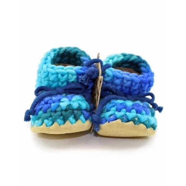 Padraig Baby Blue Multi / Infant / Toddler Slippers