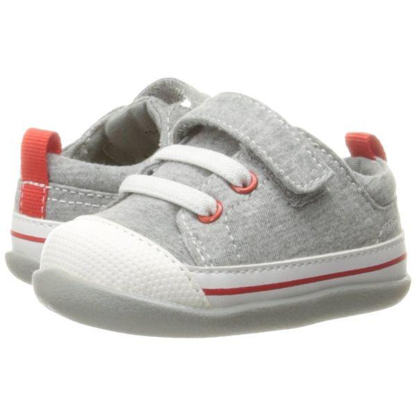 Boys First Walking Shoes - See Kai Run Kids' Stevie Ii Sneaker, Gray Jersey