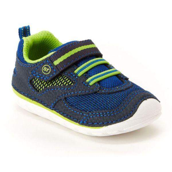 Boys First Walking Shoes - Stride Rite Adrian Toddler Lightweight Sneaker