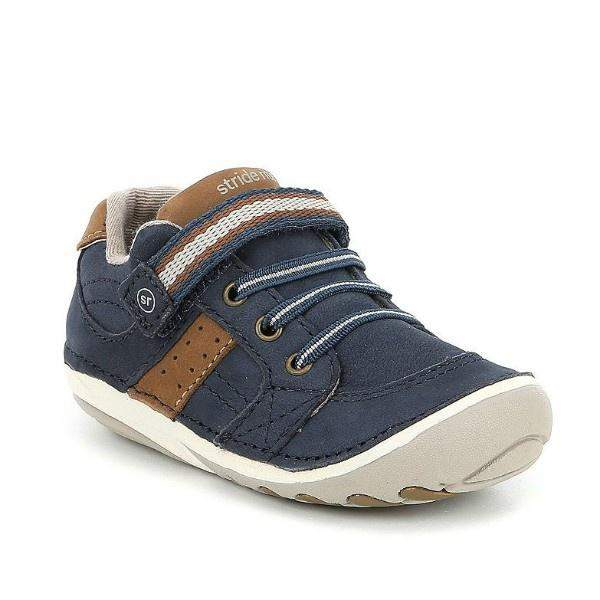 Stride Rite Artie Navy Baby Toddler Sneaker (Early Walker) - ShoeKid.ca