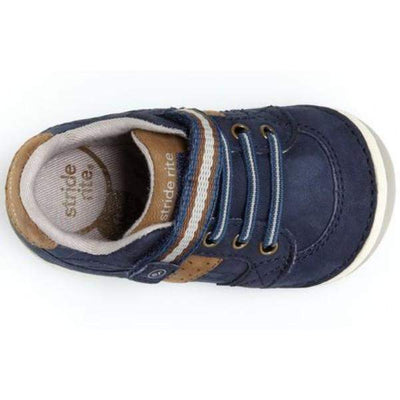 Stride Rite Artie Navy Sneaker / Infant / Toddler - ShoeKid Canada
