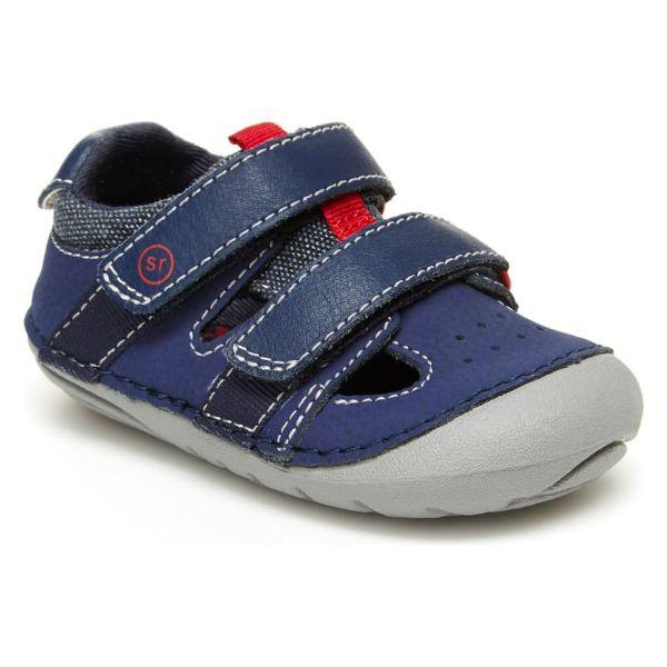 Stride Rite Boys Soft Motion Elijah Toddler Leather Sandals - ShoeKid.ca